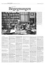 Arthur C Clarke Interview in der SZ