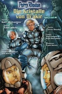 PERRY RHODAN Comic Musterseite, (c) VPM