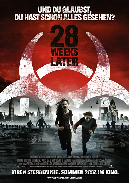 28 Weeks Later Kinoposter