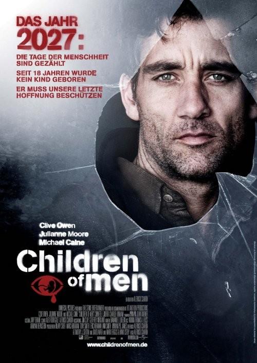 Children of Men Deutsches Kinoposter Plakat