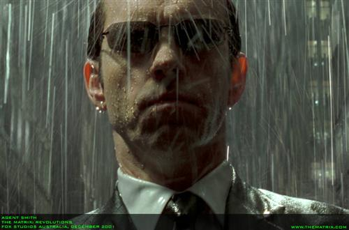 Hugo Weaving als Agent Smith, (c) Warner Bros.