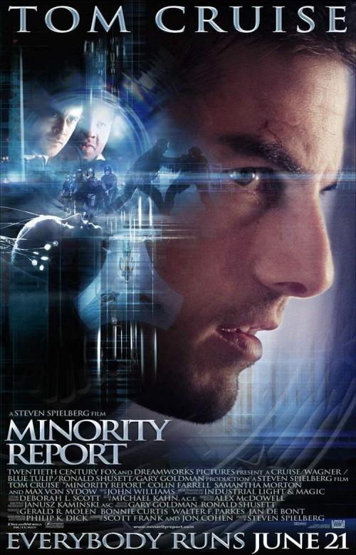 Kinoposter Minority Report
