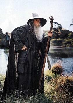 Gandalf, alias Ian McKellen, (c) Kinowelt