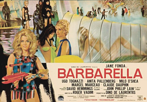 Kinoposter Barbarella