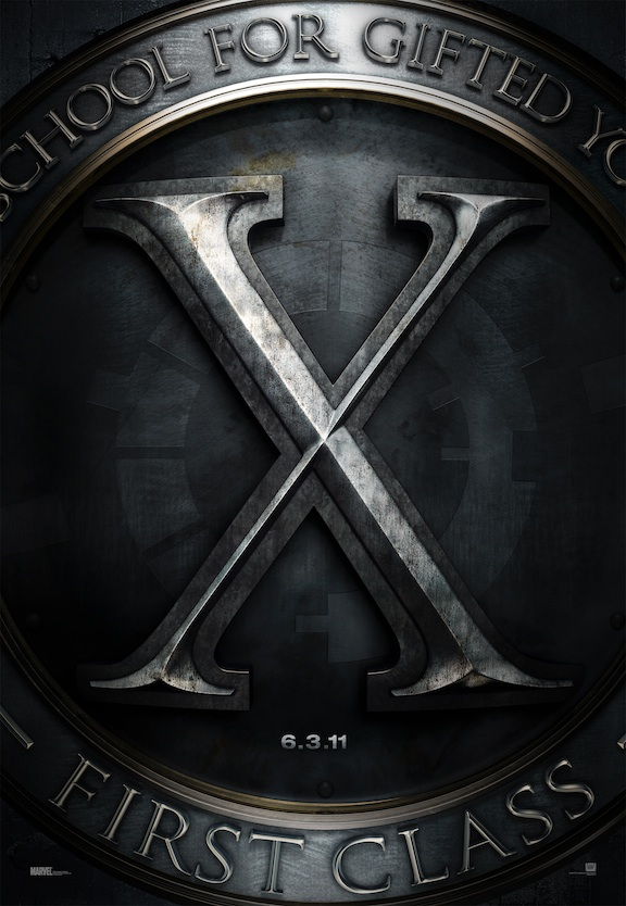 X-Men First Class - Kinoposter