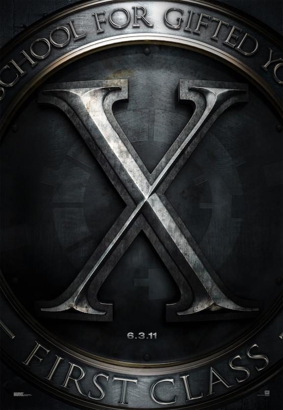 X-Men First Class - Kinoposter