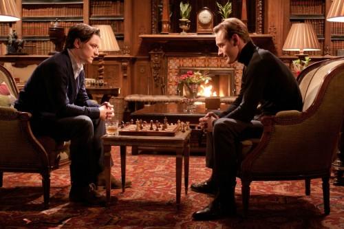 Charles Xavier (James McAvoy) und Erik Lehnsherr (Michael Fassbender)