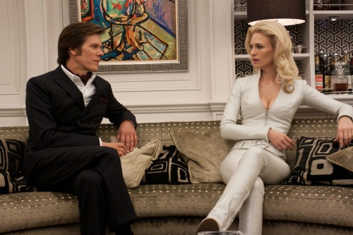 Sebastian Shaw (Kevin Bacon) und Emma Frost (January Jones)