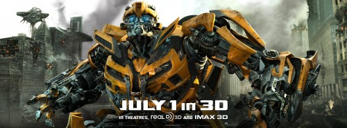 Transformers 3: Dark of the Moon Kinoposter