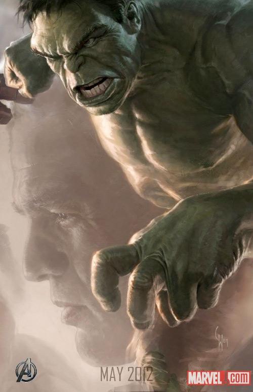 Avengers Kinoposter 2012 Hulk