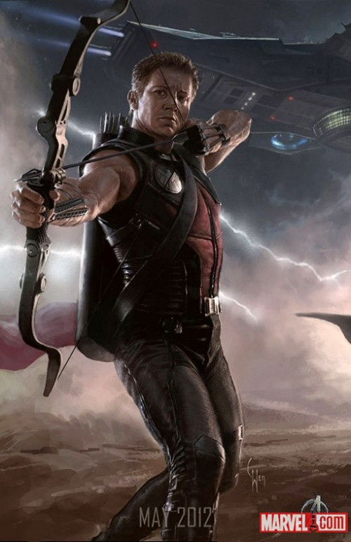 Avengers Kinoposter 2012 Hawkeye