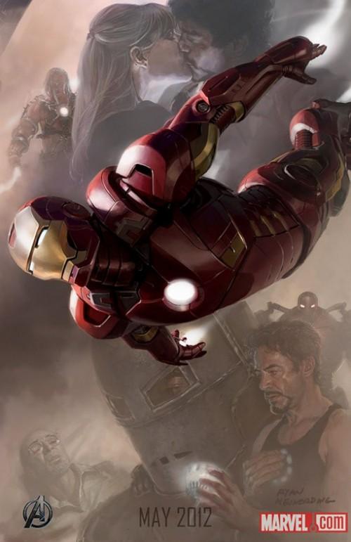 Avengers Kinoposter 2012 Iron Man