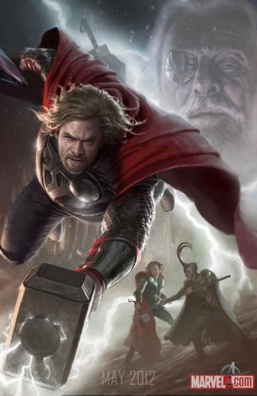 Avengers Kinoposter 2012 Thor