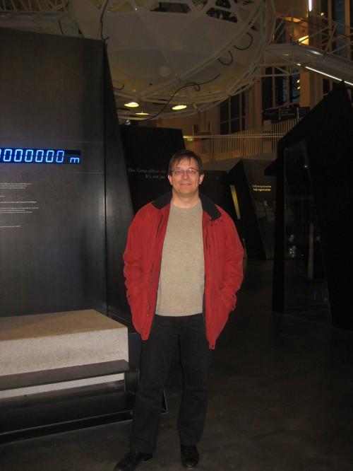 Andreas Eschbach im Deutsches Museum