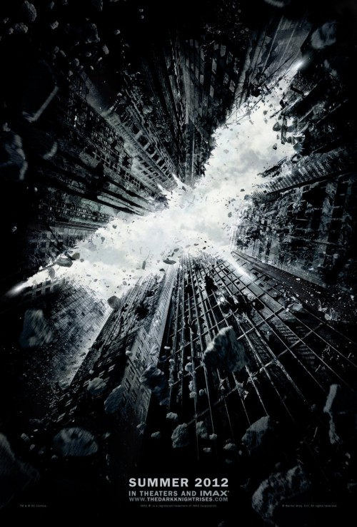 Kinoposter Batman The Dark Knight Rises
