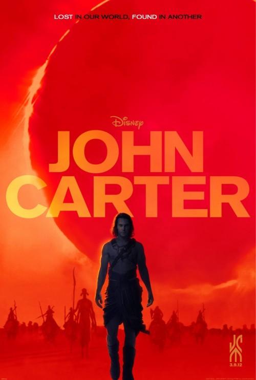 Kinoposter John Carter
