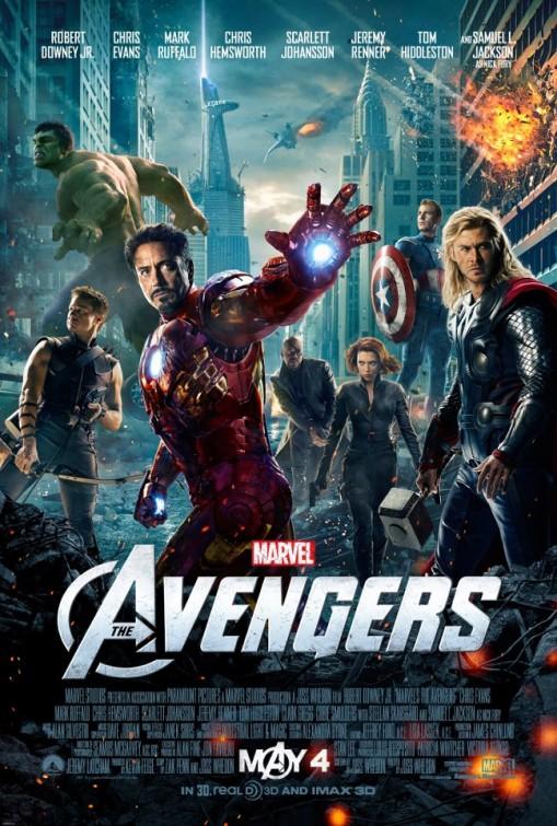 Kinoposter Avengers
