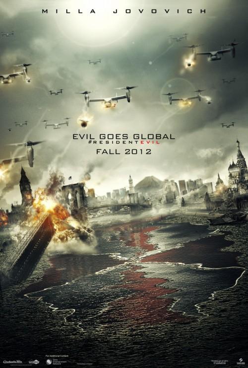 Kinoposter zu Resident Evil 5