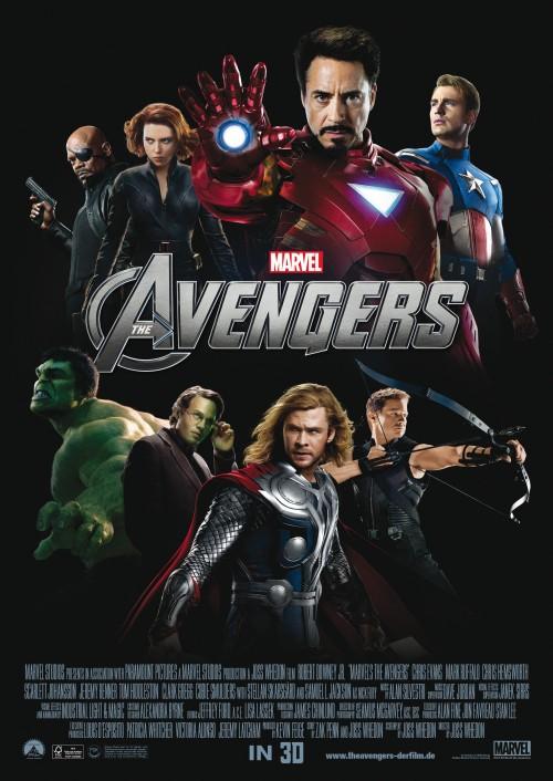 Avengers Deutsches Hauptplakat