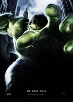 Kinoposter Hulk 2003