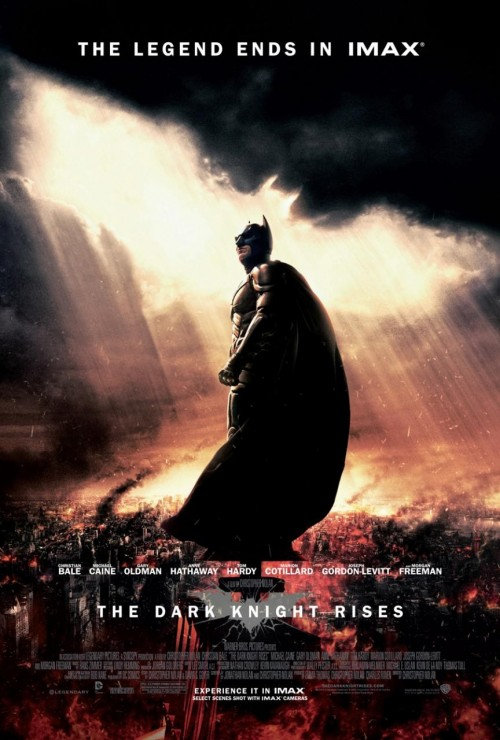 Batman Dark Knight Rises Poster