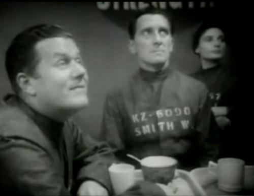 Peter Cushing als Winston Smith