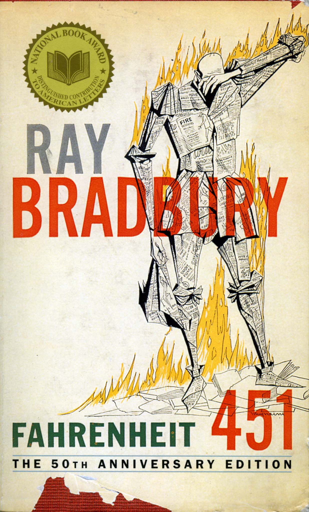 fahrenheit 451 and science fiction Summary: we have entered the crazy years, as predicted long ago by science fiction author robert heinlein our lives are like scenes from ray bradbury's fahrenheit 451.