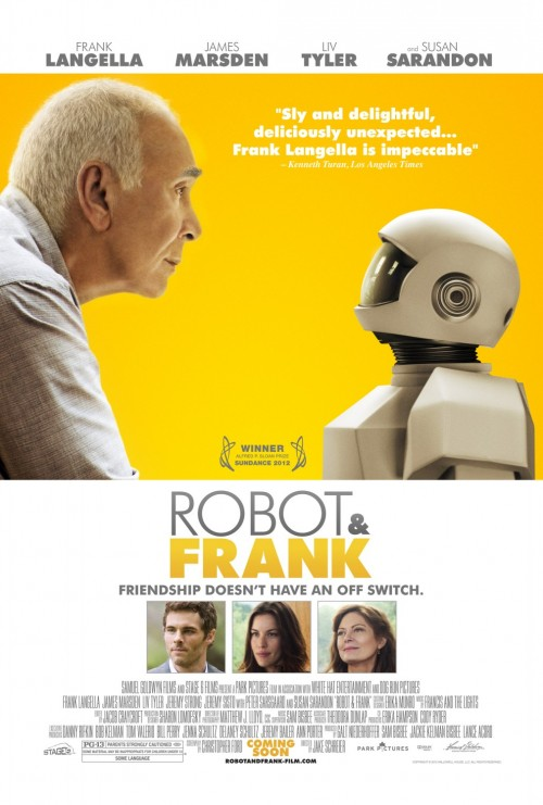 Robot & Frank Kinoposter