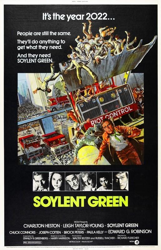 Soylent Green Kinoposter