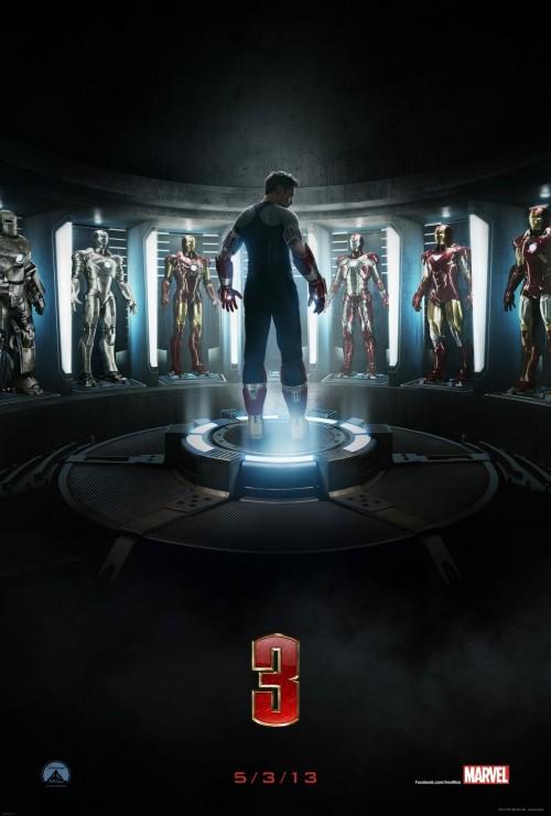 Kinoposter IRON MAN 3