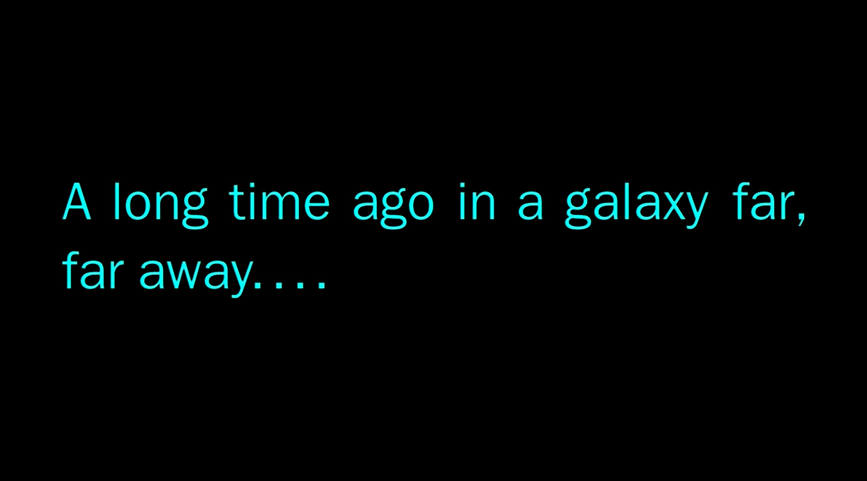 Star Wars a Long Time Ago in Galaxy