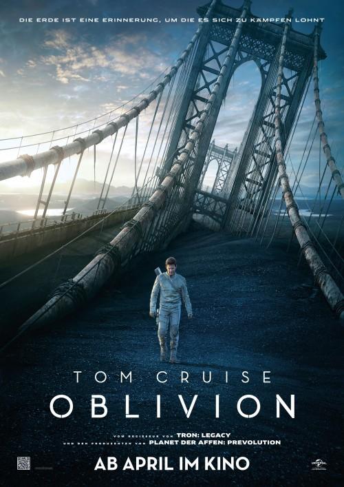 Kinoposter zu Oblivion mit Tom Cruise