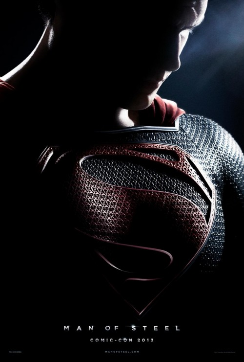 Kinoposter Superman - Man of Steel