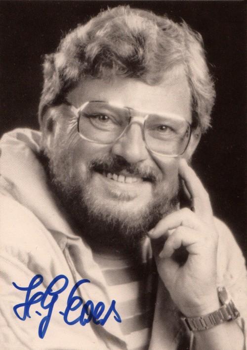 Perry-Rhodan-Autogrammkarte von H.G. Ewers
