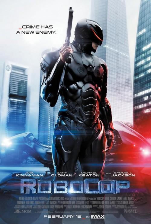 Kinoposter Robocop 2014
