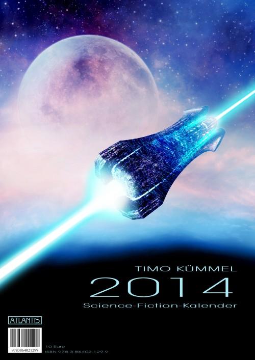 Timo Kümmel Science-Fiction-Kalender 2014 Cover