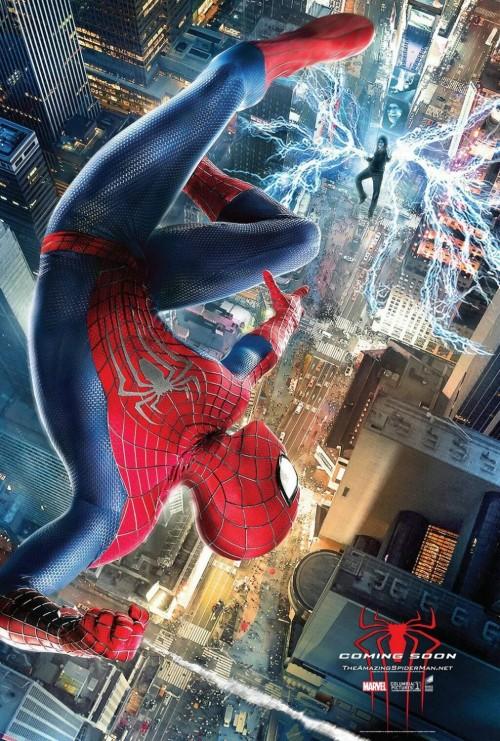 Kinoposter zu »Amazing Spider-Man 2: Rise of Electro«