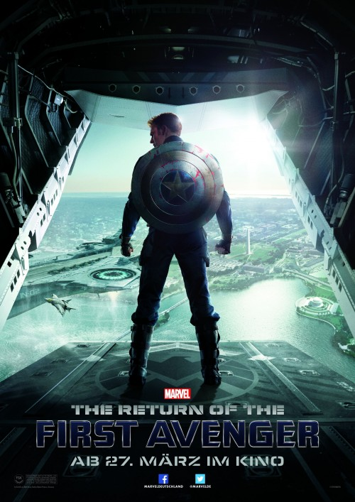 Kinoposter zu »Captain America 2: The Return of the First Avenger« | The Winter Soldier (2014)