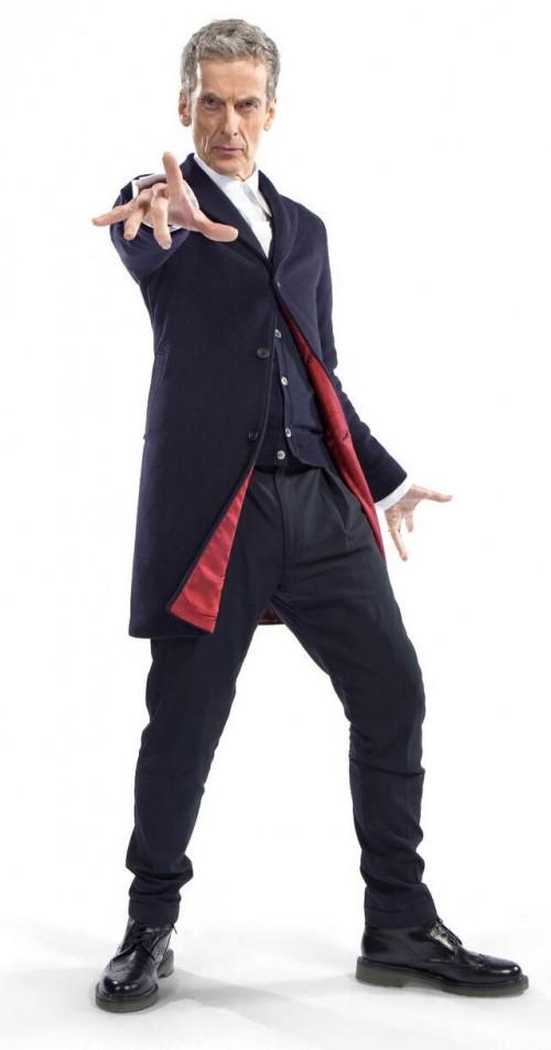 Peter Capaldi als der 12. Doctor (eigentlich streng genommen ist er der 13. Doctor)