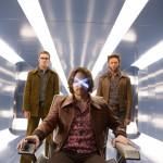 Hank McCoy/ Beast (Nicholas Hoult), Charles Xavier (James McAvoy) und Logan/ Wolverine (Hugh Jackman) – © 2014 Twentieth Century Fox