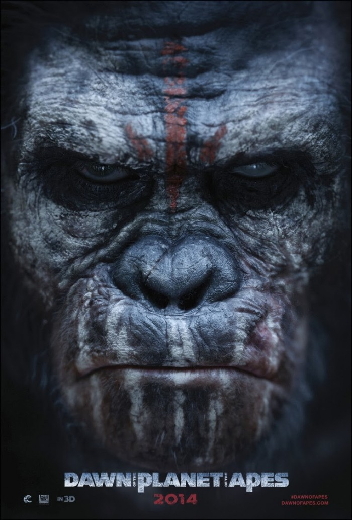 Kinoposter zu Dawn of the Planet of the Apes