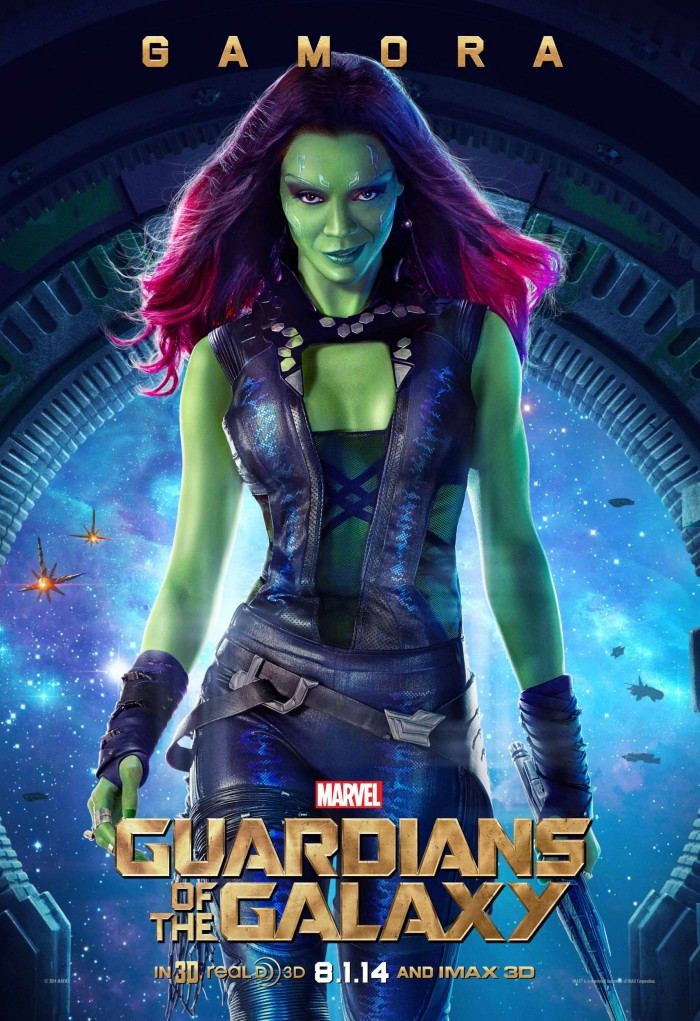 Poster Guardians of the Galaxy Gamora