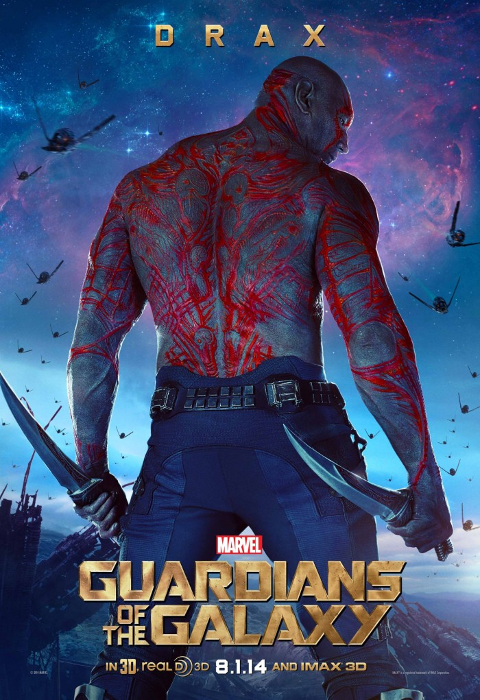Poster Guardians of the Galaxy Drax