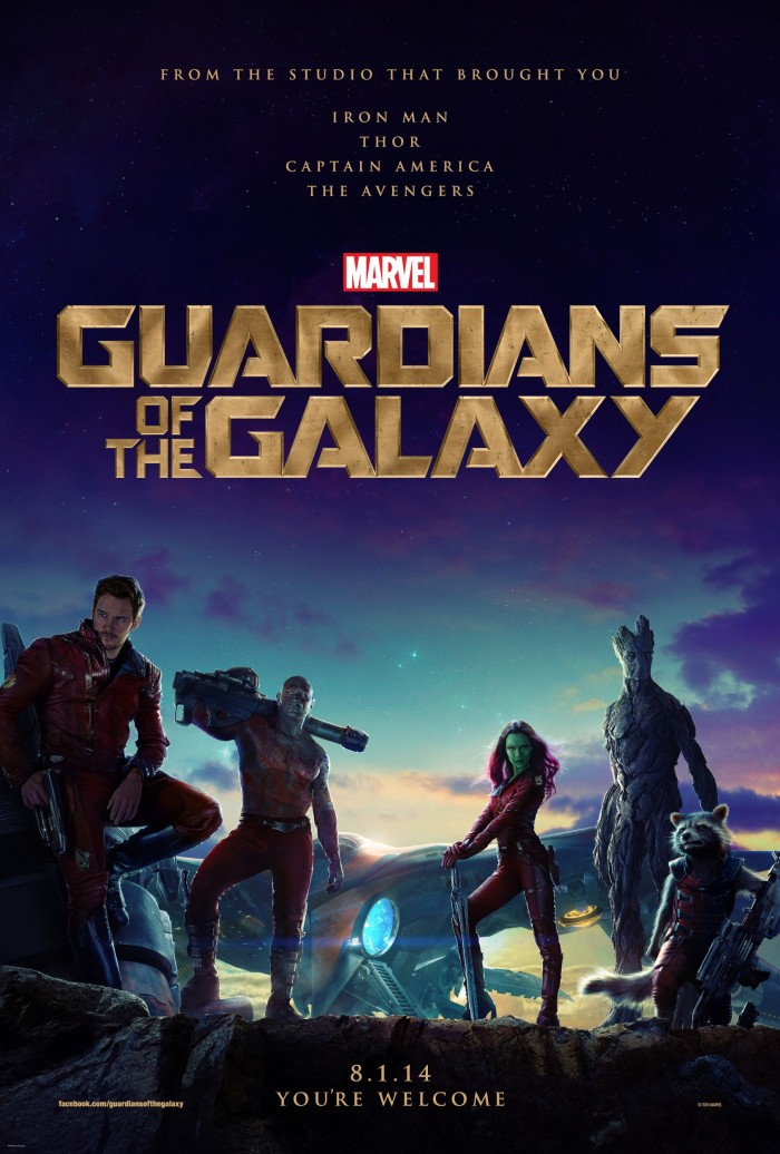 Kinoposter Guardians of the Galaxy
