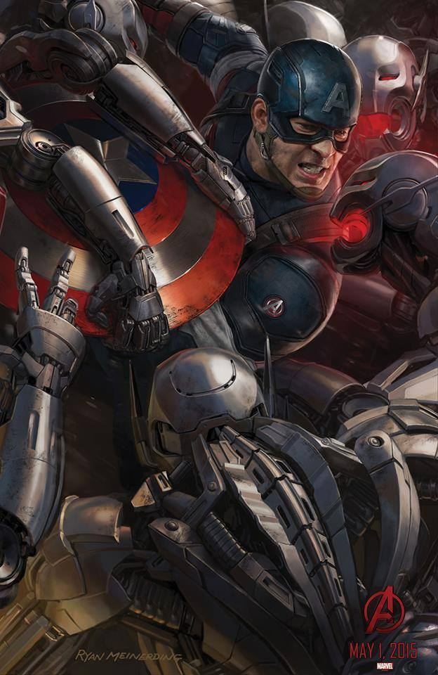Poster Avengers 2 Age of Ultron