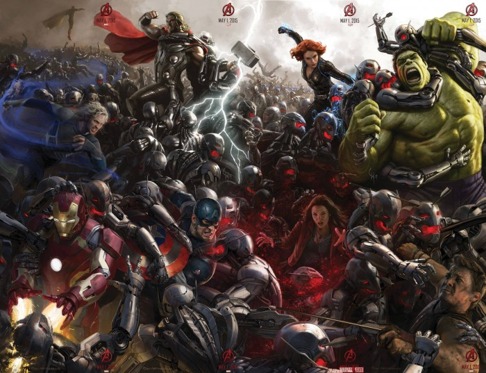 Avengers Age of Ultron Poster Alle Teile