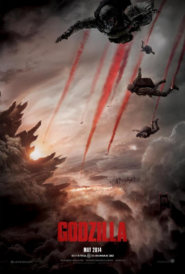 Kinoposter Godzilla 2014