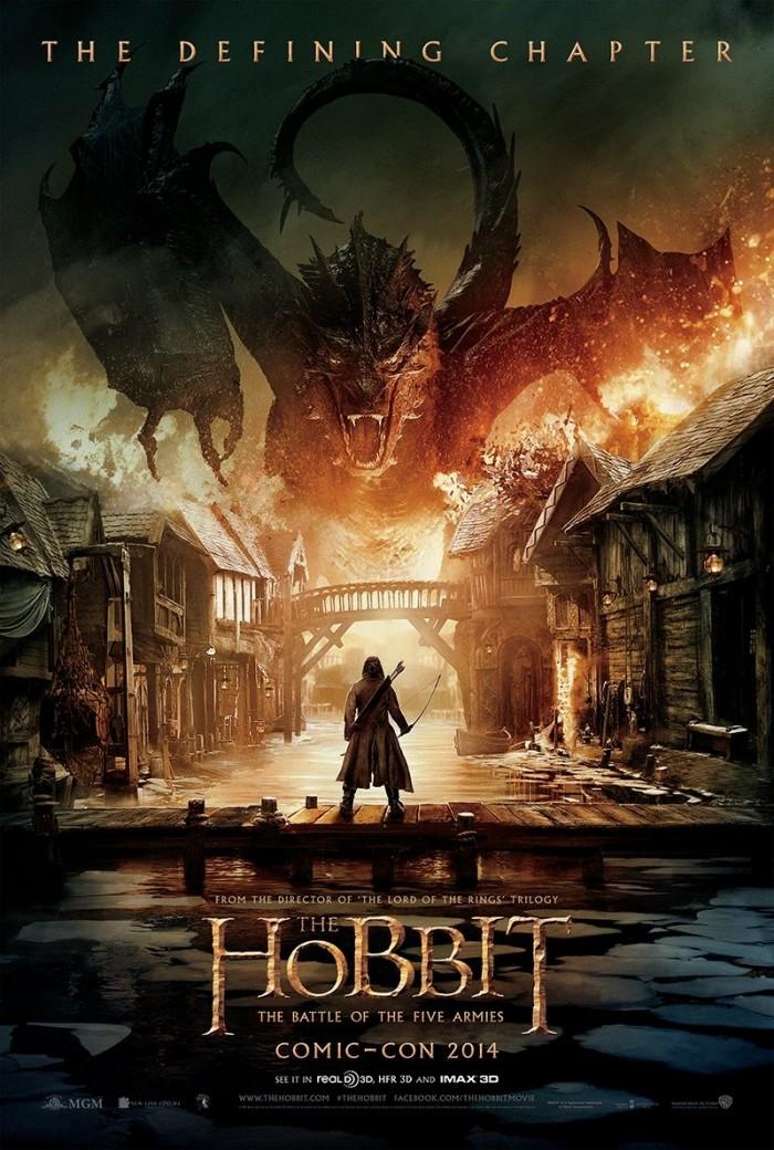 Kinoposter zu Der Hobbit: Die Schlacht der Fünf Heere