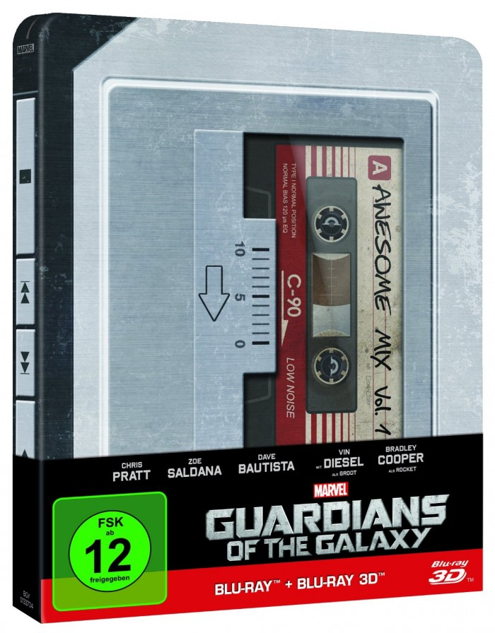 »Guardians of the Galaxy« - Steelbook-Edition