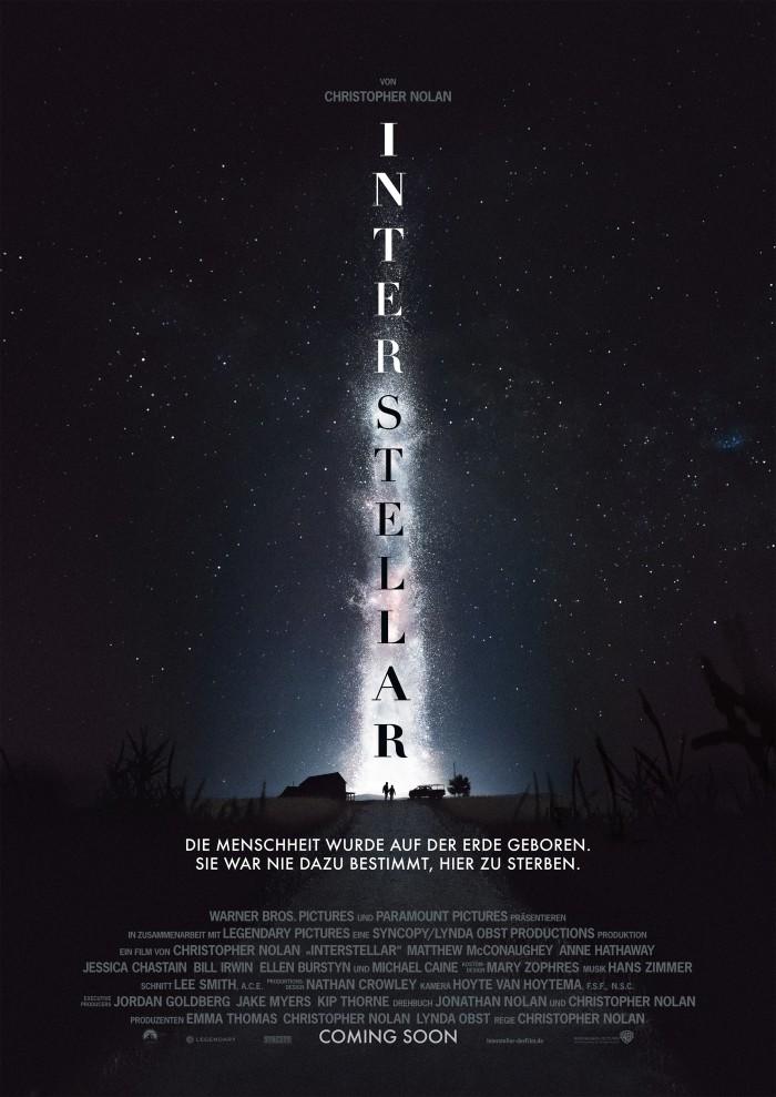 Kinoposter zu Interstellar